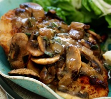 Signature: Chicken Marsala