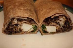 Monday Dinner: Chicken Burritos