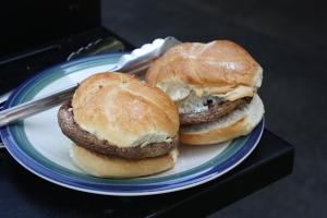Burger Week: Mediterranean Portobella Mushroom Burgers