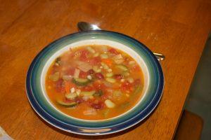 Soup night: Minestrone