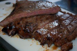 Saturday dinner: Asian-inspired flank steak