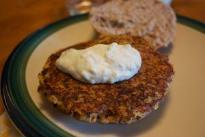 Tuesday dinner: Quinoa burgers