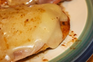 Thursday dinner: Pollo alla valdostana