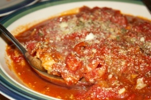 Thursday dinner: Chicken with herb-roasted tomatoes and pan sauce