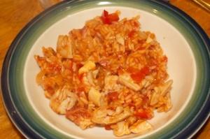 Wednesday dinner: Gringo arroz con pollo
