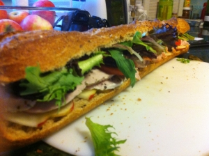 Wednesday dinner: Fancy turkey clubs (UPDATED: Now with photos)