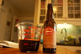 Al Dente Frozen: Dogfish Head Chicory Stout Ice Cream