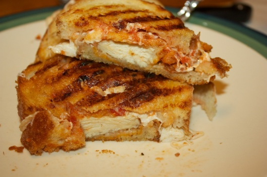 Sunday dinner: Chicken parm paninis