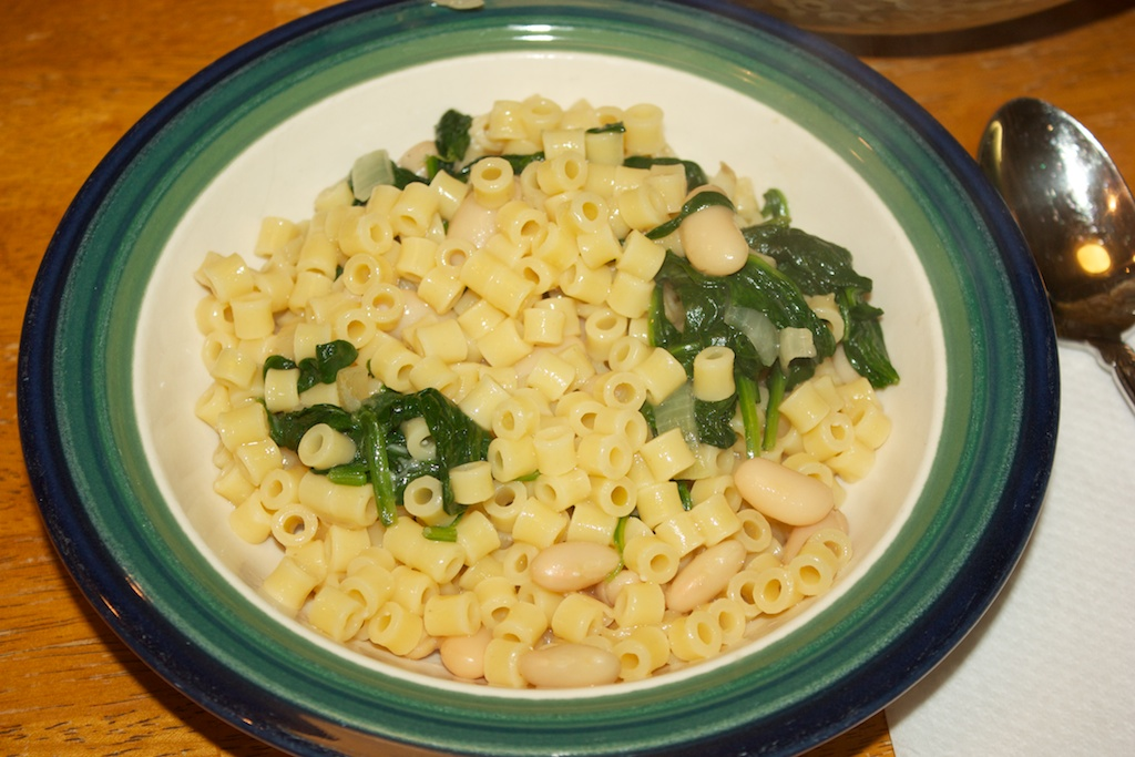 Meatless Monday: White beans and spinach