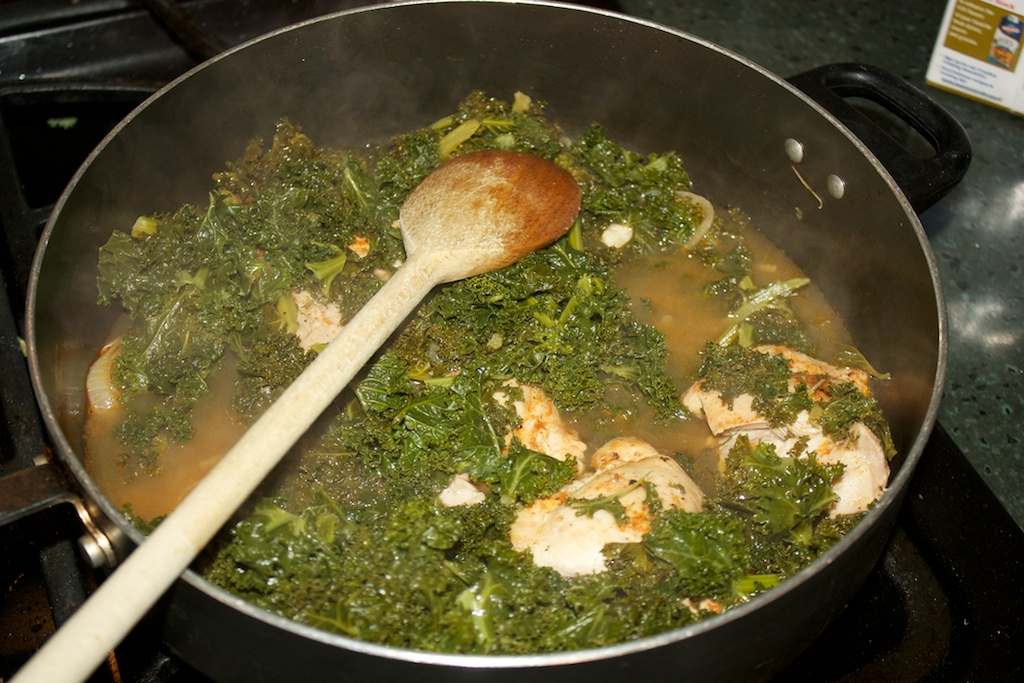 Wednesday dinner: Google's braised chicken and kale | Al Dente