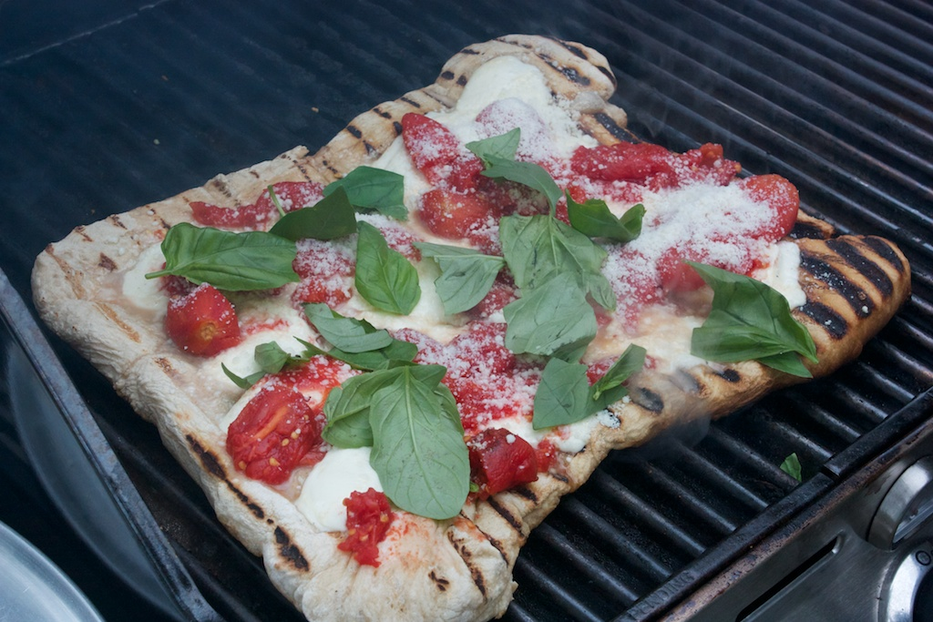 Tuesday dinner: Grilled pizza napoletana