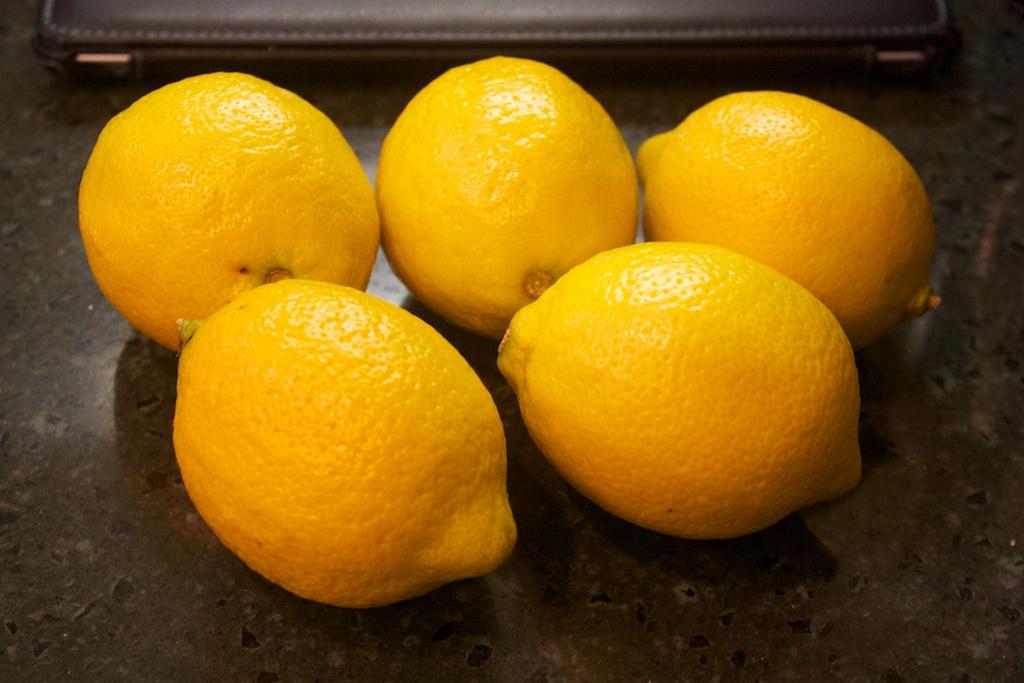 Saturday dinner: Lemon lemon thyme chicken