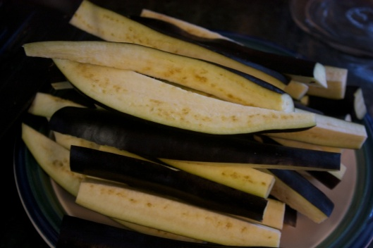 Pickling Without Canning: Eggplant