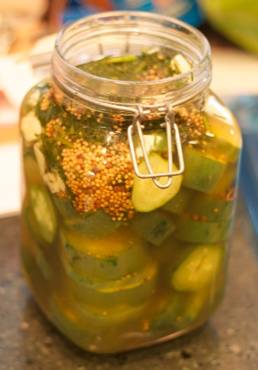 Pickling Without Canning: Garlic Dill Pickles