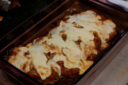 Meatless Monday: Eggplant Parmesan with Fresh Mozzarella