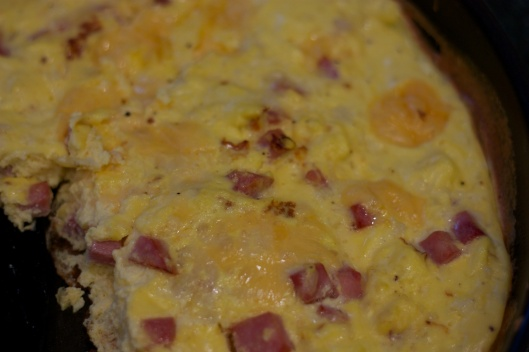 Tuesday Dinner: Ham and Gouda Frittata