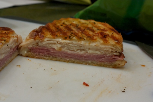 Panini Sunday: Chicken Cordon Bleu Panini