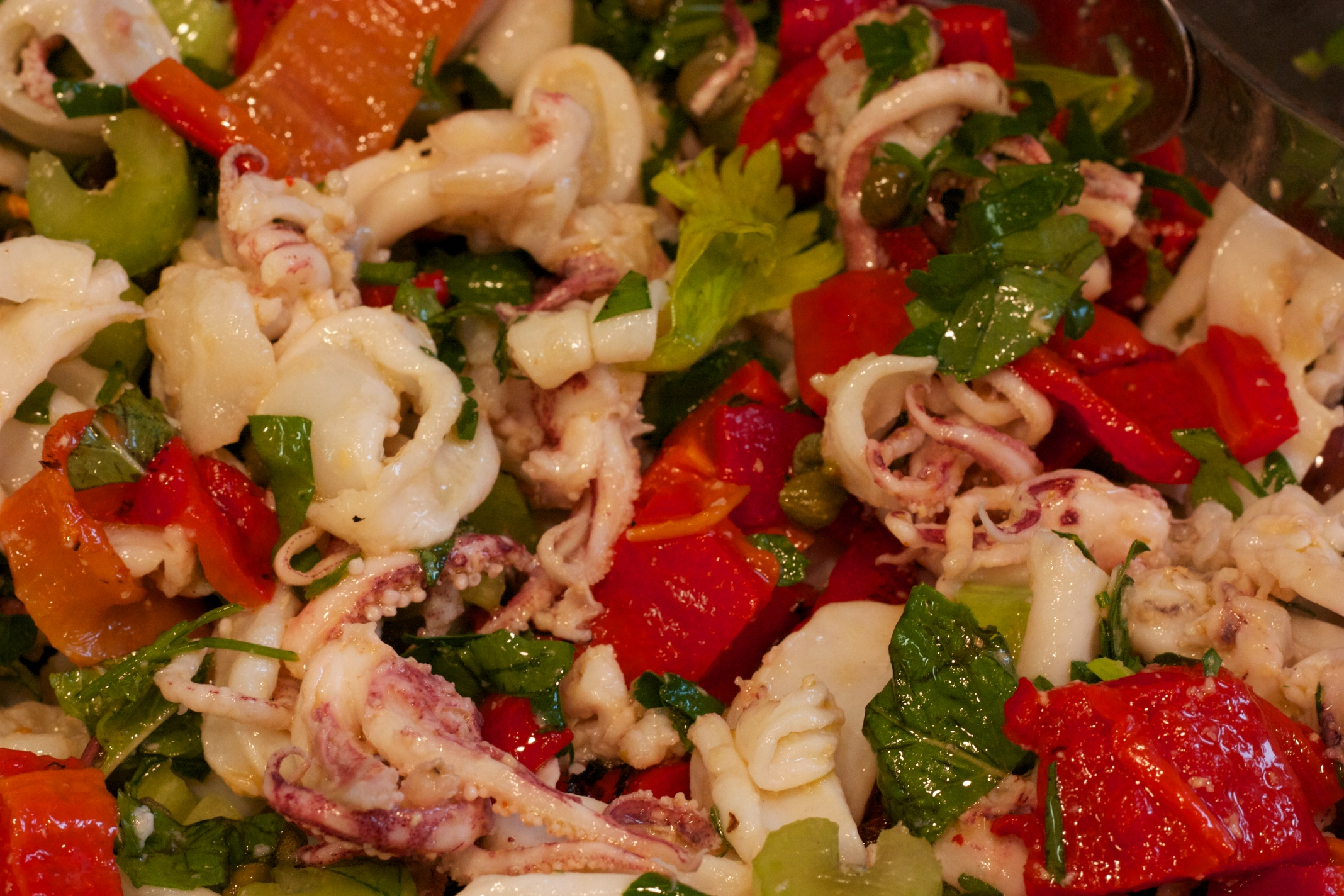 Christmas 2013: Calamari Salad | Al Dente: A Blog About Eating