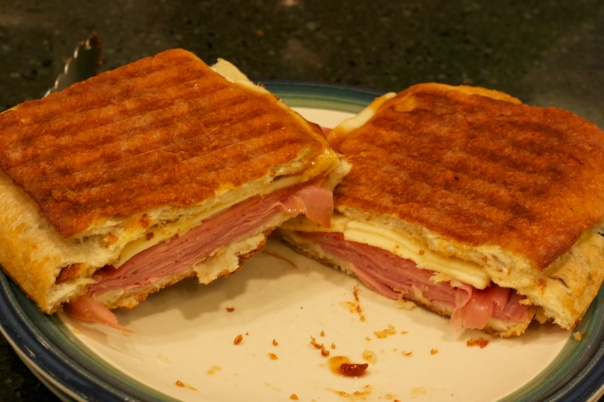 Panini Sunday: Mortadella and Fig Panini