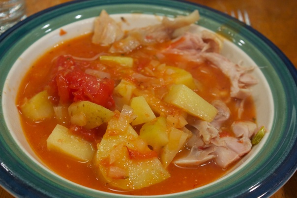 Wednesday Dinner: Easy One-Pot Chicken Bouillabaisse
