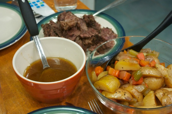 Saturday Dinner: Oven-Braised Roast Beef