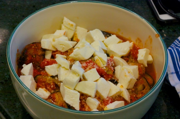 Meatless Monday: Eggplant with Roasted Tomato Sauce
