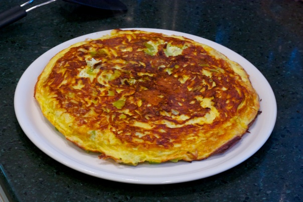 Meatless Monday: Lemon Frittata with Leeks