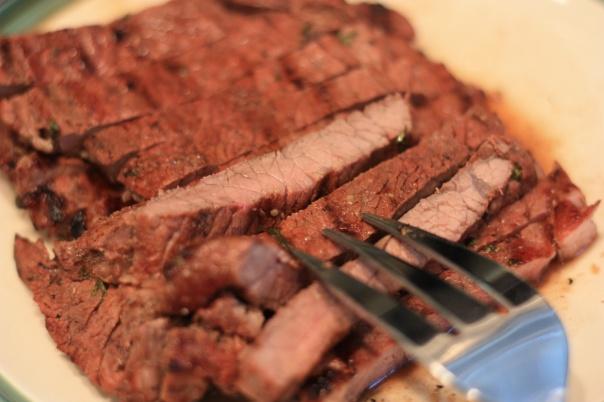 Thursday Dinner: Asian-Marinated Steak