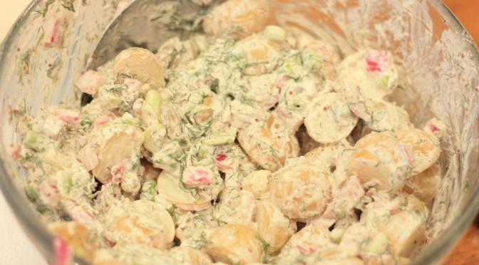 Al Dente on the Side: Creamy Dill Potato Salad