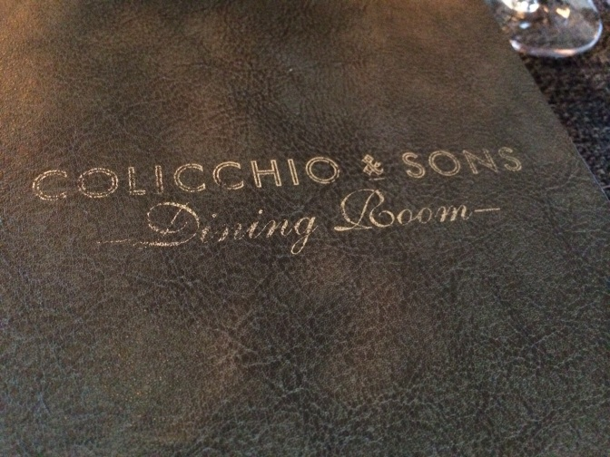 Colicchio & Sons, New York, N.Y.