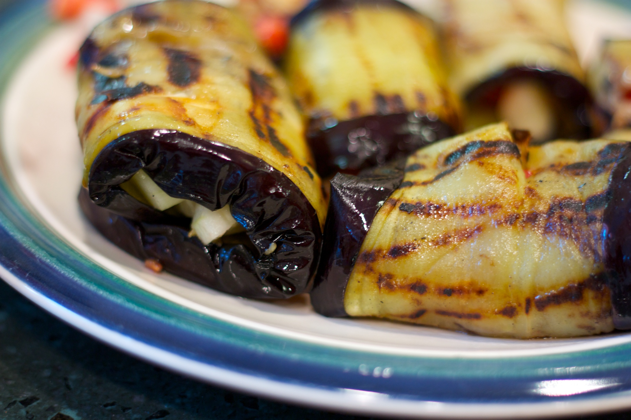 Meatless Monday: Eggplant Spirals with Greek Yogurt