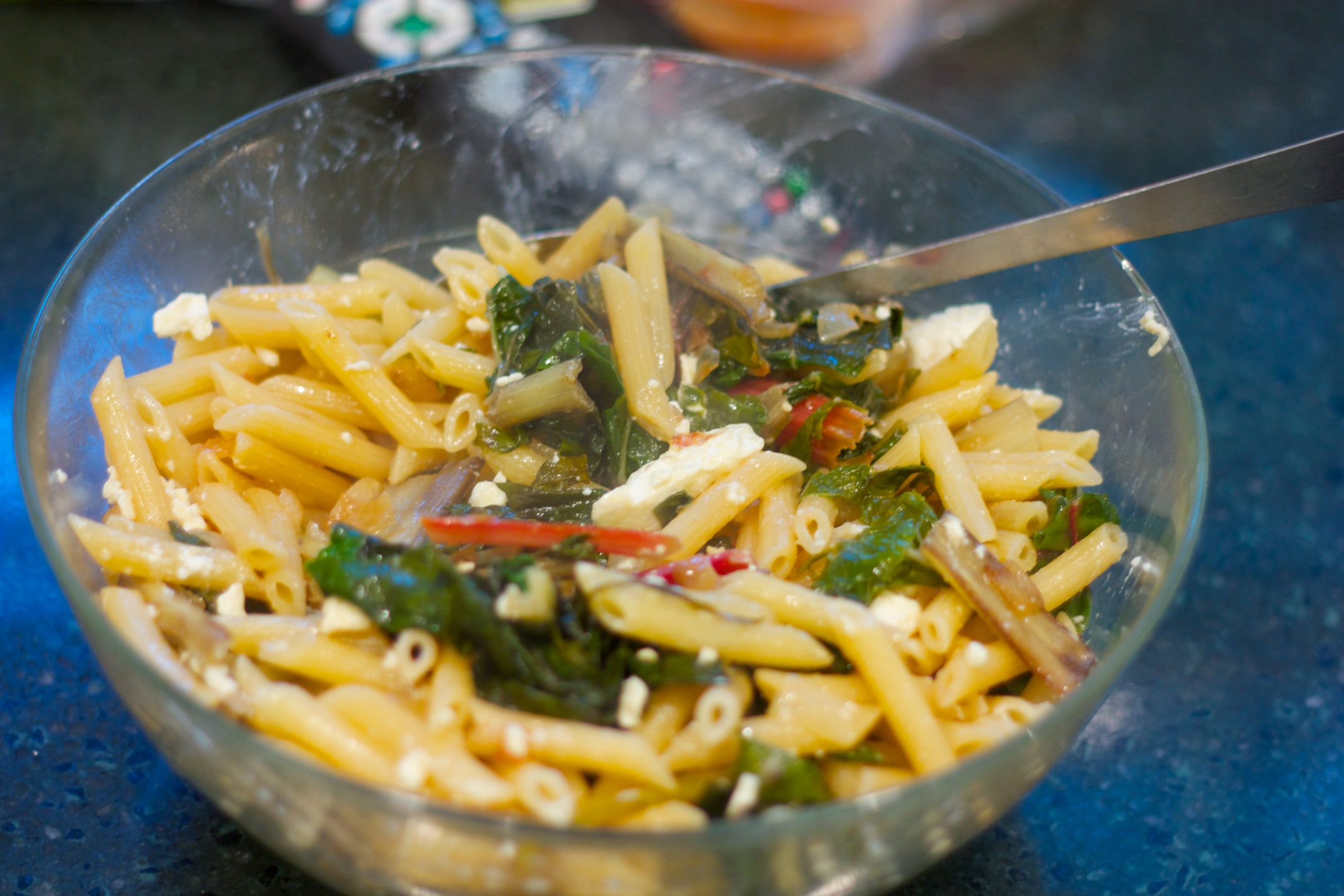 Meatless Monday: Pasta With Greens and Feta