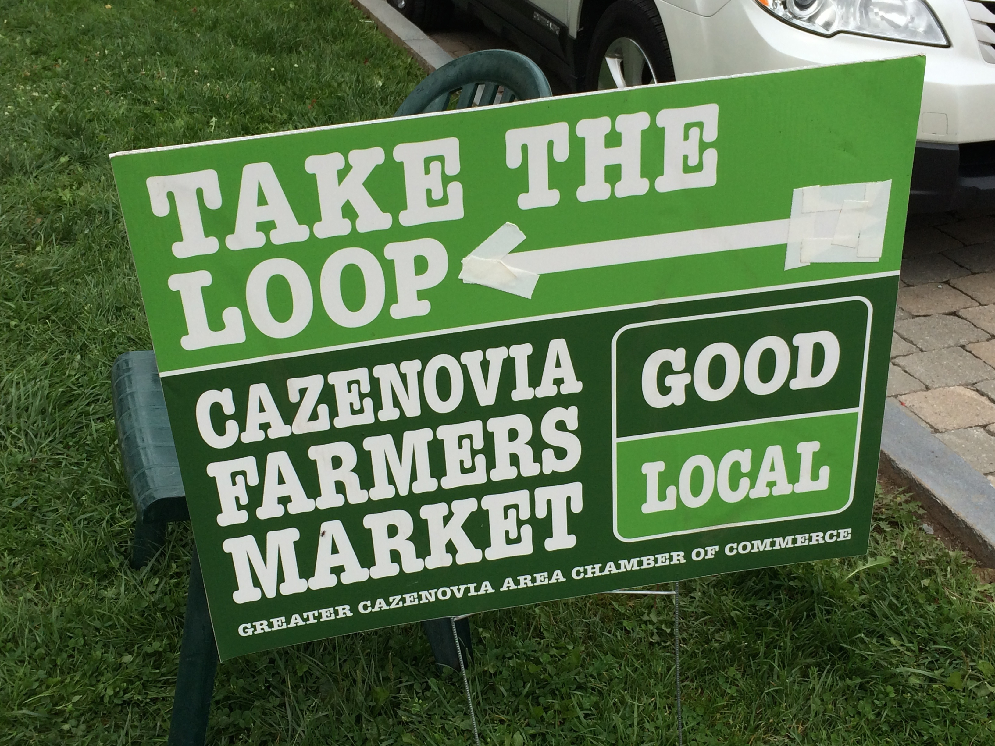 Visiting The Cazenovia Farmers Market