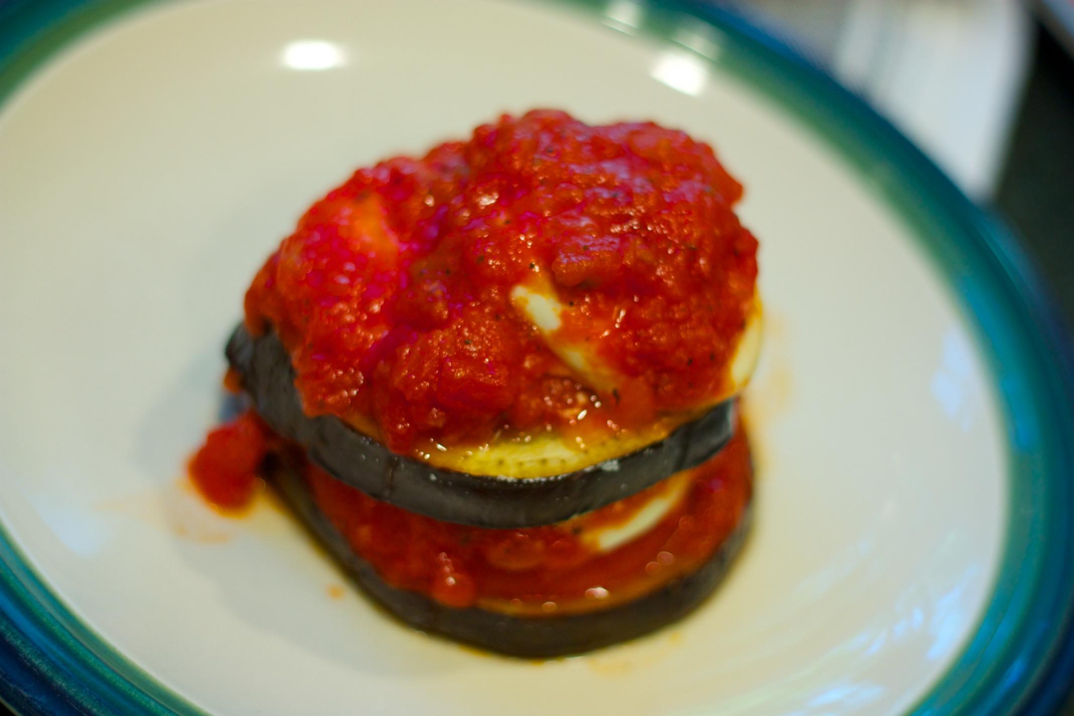 Meatless Monday: Eggplant Stacks