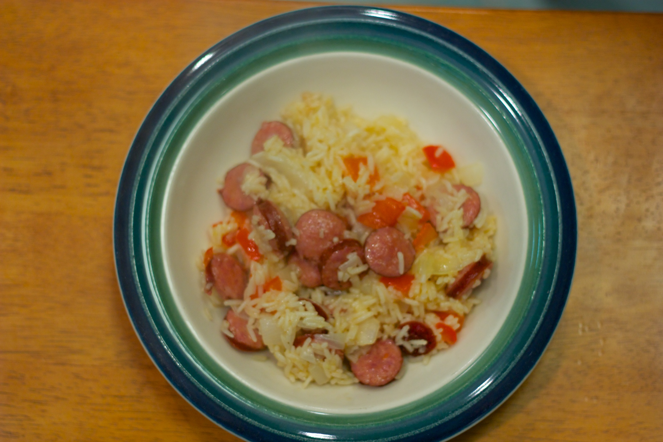Tuesday Dinner: Andouille Sausage and Rice