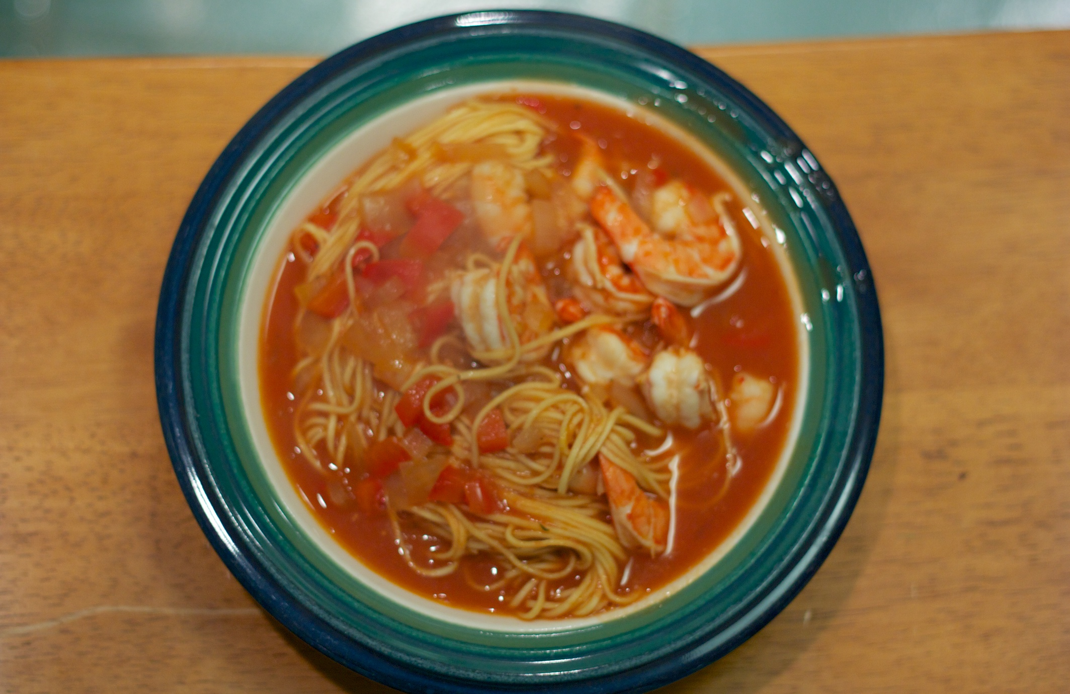 Wednesday Dinner: Spicy Cuban Shrimp Soup