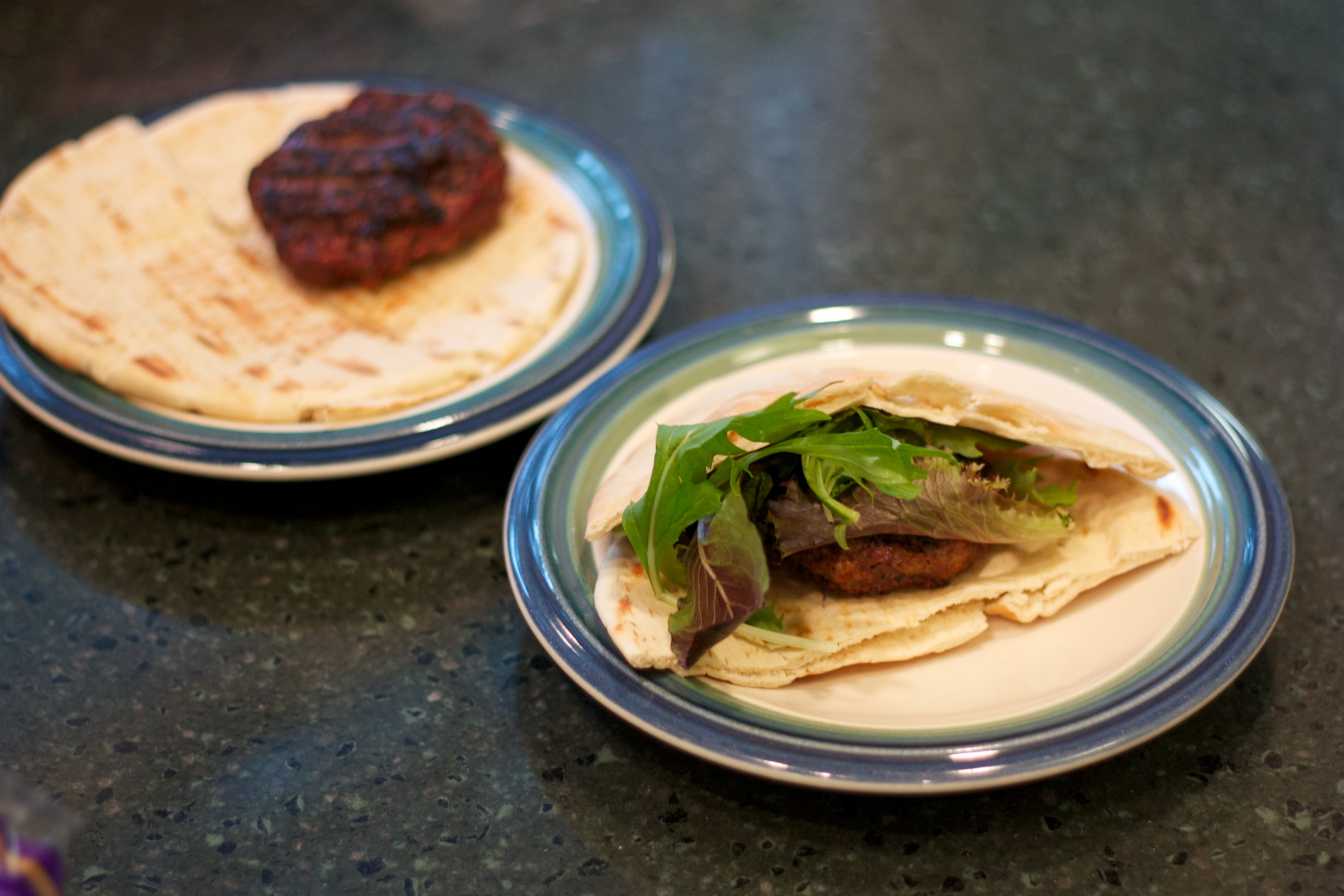 Thursday Dinner: Cavender's Lamb Burgers