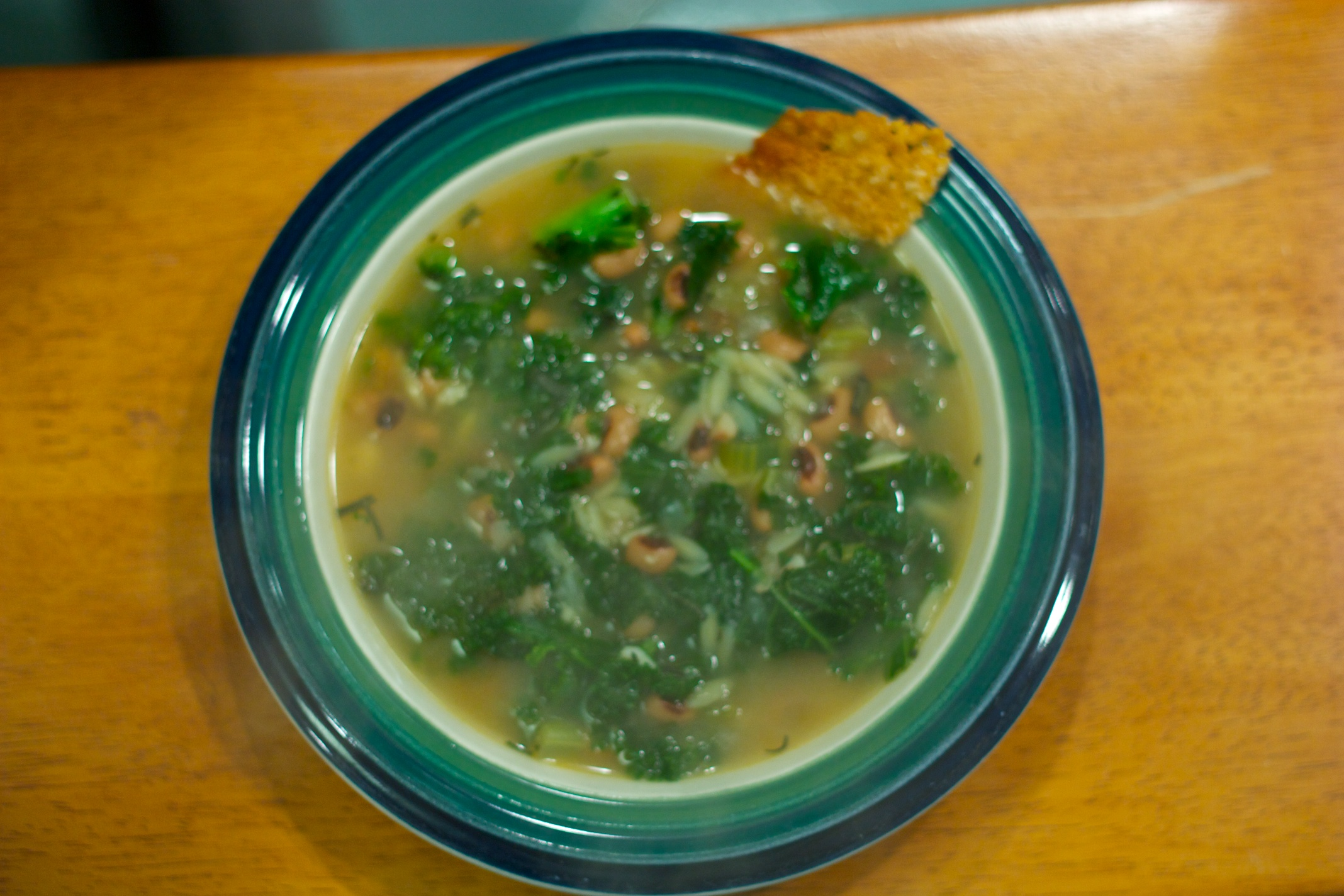 Meatless Monday: Kale and Black-Eyed Pea Soup