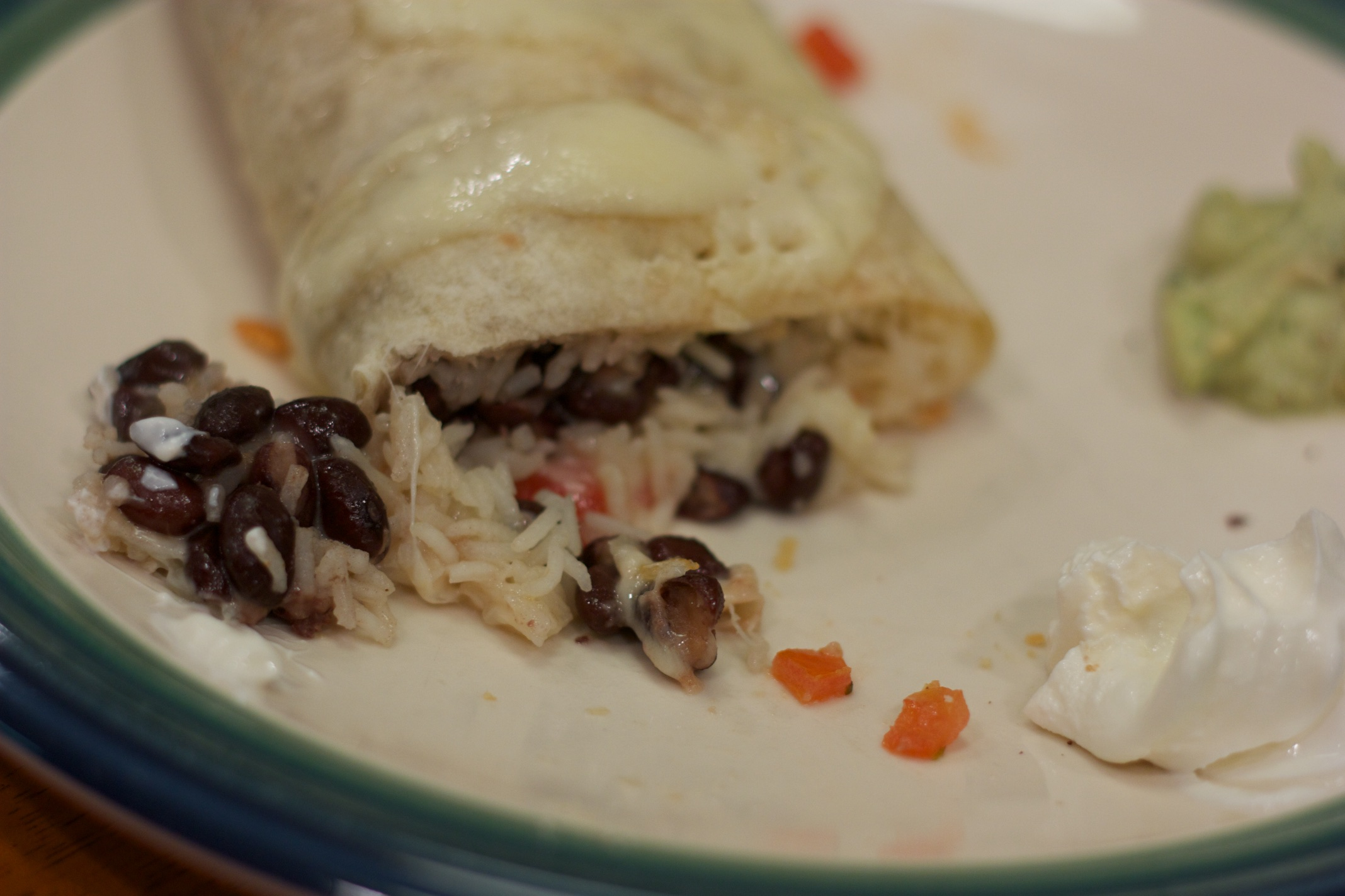 Meatless Monday: Black Bean Burritos